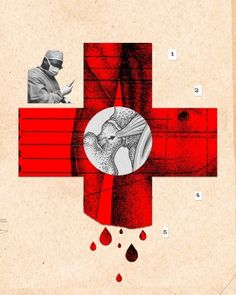 """""""Within the first 24 hours after surgery you can find strong clues in blood that reveal what shape a particular patient is going to be in two weeks later."""" Spring 2015, Stanford Medicine Magazine - Stanford University School of Medicine. Illustration by Lincoln Agnew."""