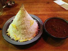 """Dekamori curry"" もうやんカレー"