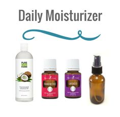 Essential Oils Daily Moisturizer