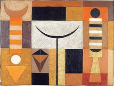 Mario Carreño  Untitled  1952  Oil and sand on canvas