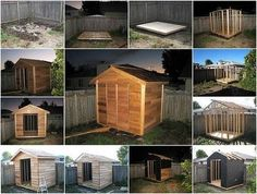 build outdoor shed...We need to do this!!!!