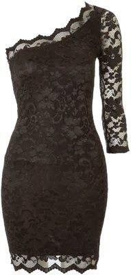Adorable Black Lace Dress