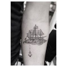 cute sailboat tattoo - Google Search                                                                                                                                                     More