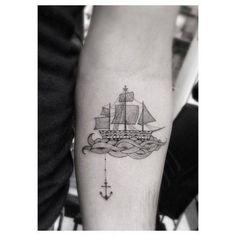 cute sailboat tattoo - Google Search More