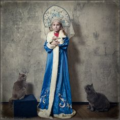 photo: When I Become a Snow Maiden | photographer: Andy Prokh | WWW.PHOTODOM.COM