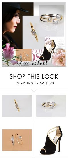 """// https://www.etsy.com/shop/TInyCamellia //30"" by nura-akane ❤ liked on Polyvore featuring Jimmy Choo and WALL"