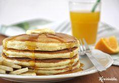 Φουσκωτά pancakes με γιαούρτι / Fluffy yogurt pancakes Breakfast Recipes, Dessert Recipes, Desserts, Yogurt Pancakes, Delish, Food And Drink, Sweets, Healthy Recipes, Cooking