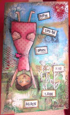 MONIARCH BE CREATIVE: Art journaling: il colore ha preso possesso delle mie mani