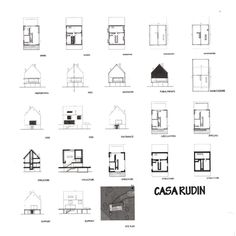 Rudin House Herzog & de Meuron - Поиск в Google Planer, Workshop, Floor Plans, Diagram, How To Plan, Studio, Google, House, Houses