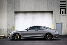 We find yet another gorgeous S63 AMG Coupe, this time wearing custom Vossen CVT wheels.