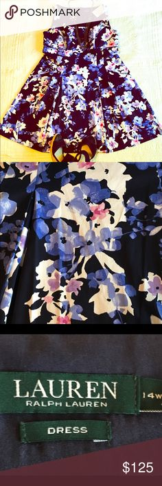 Ralph Lauren Floral Dress This Ralph Lauren floral, sleeveless dress is to die for. The pockets make it one of my favorites. Who doesn't love a great dress with pockets? It has a lined bodice and fits like a glove. Make me an offer 🌞 Ralph Lauren Dresses Midi