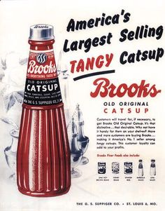 Official Web Site and Fan Club of the World's Largest Catsup Bottle in Collinsville, Illinois Vintage Advertisements, Vintage Ads, Retro Ads, Thanks For The Memories, Soda Fountain, Old And New, Collinsville Illinois, Childhood, History