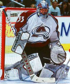Patrick Roy, greatest goalie ever! Pro Hockey, Ice Hockey Teams, Hockey Goalie, Hockey Players, Patrick Roy, Saint Patrick, Canada Hockey, Hockey World, Goalie Mask