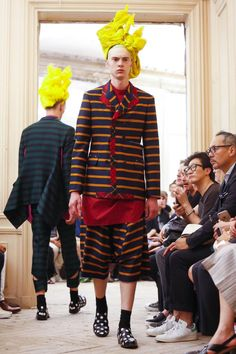 Image - Comme des Garcons Homme Plus @ Paris Menswear S/S 2016 - SHOWstudio - The Home of Fashion Film