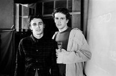 A 21 year old James Franco & 19 year old Jason Segel.