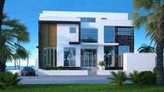 Exterior villa design for UAE | Mary Lakzy | LinkedIn