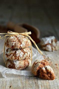 Biscotti morbidi cioccolato e pera