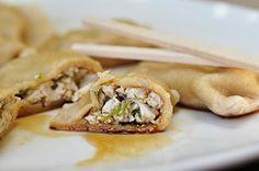 Chinese Dumplings with Vegetarian Filling