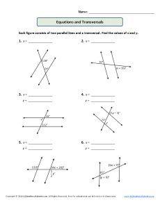 Relación Entre Ángulos Opuestos por el Vértice (A) | Math ...