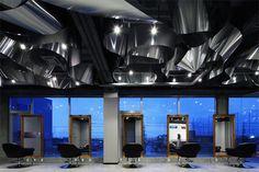 Salón de belleza Arkhe por TWOPLUS A, Chiba Japón tienda de diseño