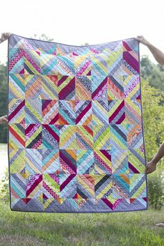Diamond quilt by Nydia (The ADD-Crafter)