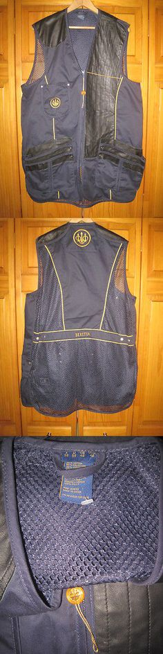 Skeet and Trap Shooting 111292: Beretta Trap Shooting Vest Men S 48 Leather Sporting Clays Skeet Hunting New -> BUY IT NOW ONLY: $49.99 on eBay!