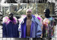 JAMAICAN ME CRAZY BY PHOTOGRAPHER JADE SUKIYA ( FOR NOCTIS MAGAZINE #8) #mensfashion #runway #furcoat #streetfashion #clubkid #holographic #noctismagazine #jadesukiya #brogantoyn
