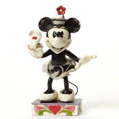 Figurine Minnie Noir et Blanc - Yoo-Hoo! - Disney Traditions Jim Shore