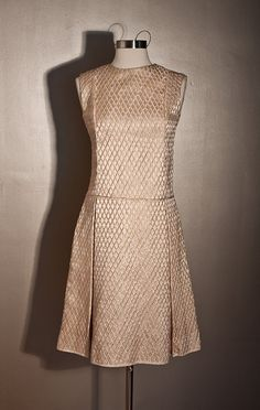 1960s Pink Metallic Dress  GINO CHARLES by SalvatoCollection, $243.28