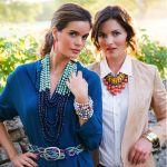 Beautiful beaded necklace ~ Buy it at the ICS Bizarre Bazaar ~ Nov 16, 2013 in Winter Park, FL. Click thru for details!