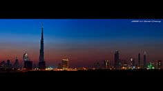 Dubai Skyline :: Blue Hour   Very Large View is a must! Ever…   Flickr