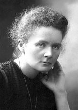 Marie Curie, née Sklodowska. A largely penniless student who worked as a governess & tutor while pursuing her dream of becoming a physicist (an unheard of occupation for a woman in the nineteenth century) she eventually found her way to Paris in 1891 where she found work at the laboratory of physicist Gabriel Lippman while continuing her studies at the Sorbonne. She was the 1st woman to win the Nobel Prize, and won a 2nd time, again a 1st.