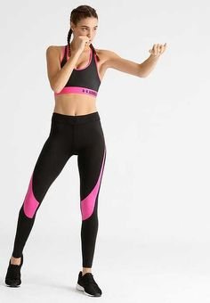 c29784623ce144 Even & Odd Running Leggings Black/Pink Size Large Box47 20 G #fashion