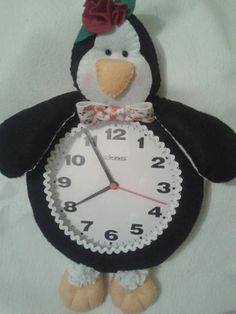 Relógio Pinguim