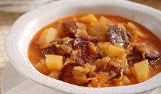 Poriadna kapustová polievka s klobásou | DobreJedlo.sk