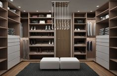 Descubra fotos de Closets modernos por Citlali Villarreal Interiorismo & Diseño. Veja fotos com as melhores ideias e inspirações para criar uma casa perfeita.