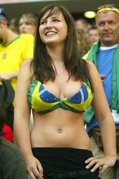 PICS: Beautiful fans of FIFA World Cup 2014 and 2018 PICS: Top hottest fans World Cup Top hottest fans World Cup Want to see the best top hottest fans World Cup Well… Hot Football Fans, Football Girls, Soccer Fans, Soccer World, Football Art, Football Stadiums, Fifa 2014 World Cup, Swedish Women, Hot Fan