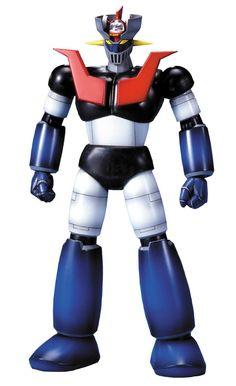 Mechanic Collection Mazinger Z Model Kit by Bandai Plastic Model Kits, Plastic Models, Bandai Model Kits, Robot Cartoon, Gundam Mobile Suit, Retro Robot, Super Robot, Figure Model, Scale Model