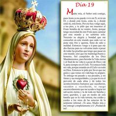 Oración día 19, Mayo mes de María