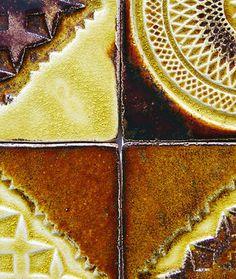 Handmade ceramic tiles from www.dekor-kafle.pl