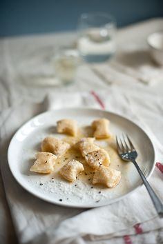 Ricotta Gnocchi | A little online research revealed that gnocchi vary from region to region and even household to household in Italy. Some use semolina, some are made with breadcrumbs but the one that caught my eye was the gnocchi made with ricotta. There were literally a myriad of recipes all calling for different amounts of flour, eggs and types of ricotta. A few practice runs later, I think I have a recipe that works for me. | From: souvlakiforthesoul.com