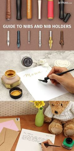 There are actually practical reasons to choose a nib and nib holder over modern day pens, including flexibility in line width variation and tip size, which are advantageous for both writing and drawing purposes. We cover the basics of comic nibs, calligraphy nibs, and nib holders in this article and also include a table that details nib and nib holder compatibility.