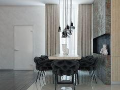 Fireplace room. on Behance