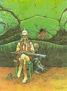 Major Grubert, by Moebius.