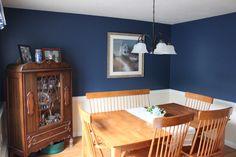 Dining Room - Benjamin Moore Hudson Bay #1680