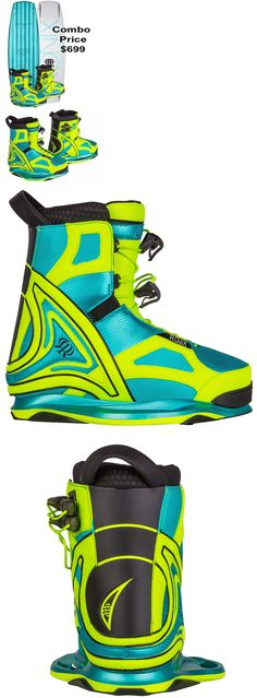 Wakeboard Bindings 47362: New 2017 Ronix Limelight Wakeboard Boot Size W 9 Us -> BUY IT NOW ONLY: $369 on eBay!