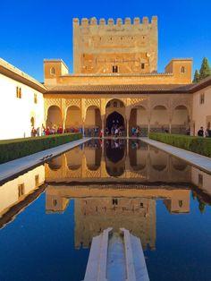 Alhambra, Granada, Spain - Islamic and Christian architecture...