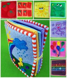 Quiet Time Activities Kids Activity Books Diy Quiet Books Felt Books Quiet Book Patterns Math Books Crochet For Kids Sewing For Kids Craft Show Ideas Diy Quiet Books, Baby Quiet Book, Felt Quiet Books, Book Crafts, Felt Crafts, Silent Book, Quiet Book Patterns, Fidget Quilt, Book Activities