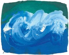 British painter and printmaker Howard Hodgkin, Abstract Paintings, Perception, Expressionism, Cupboard, Printmaking, Surfing, Waves, Textiles