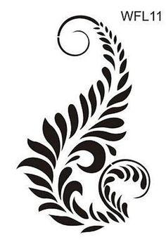 Image result for damask stencil printable free Large